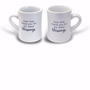 Diner Mug-Blessings (12 Oz)