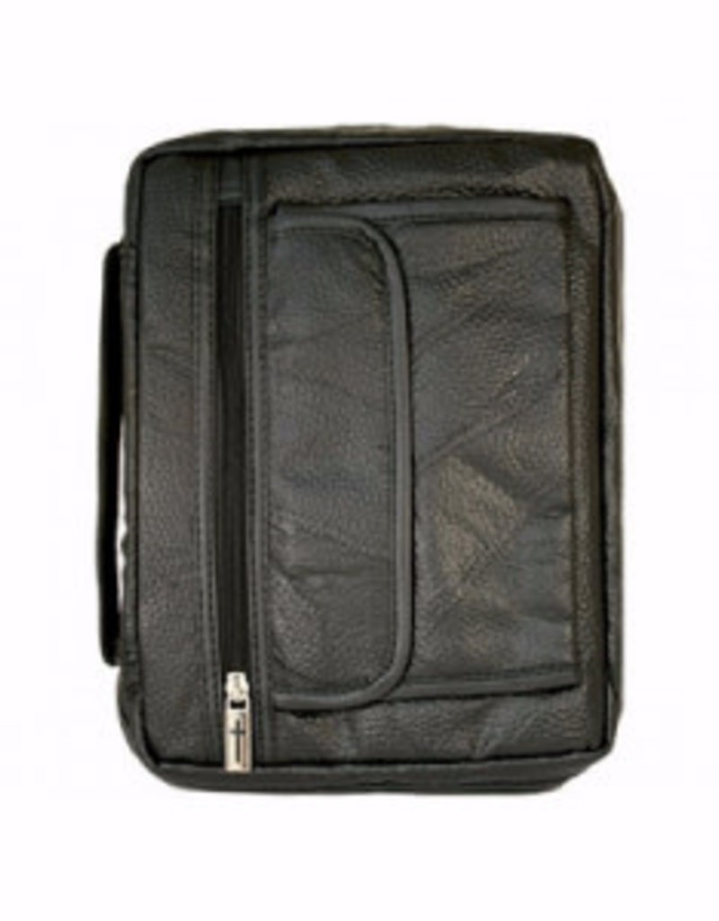Bible Cover-Leather-Large-Black