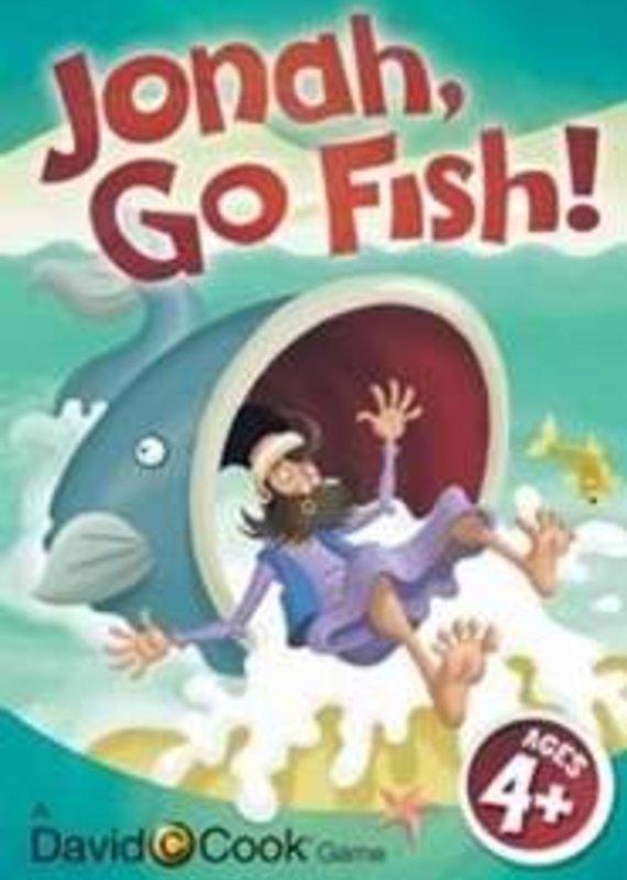 David  Cook Game-Jonah, Go Fish! Jumbo Card Game
