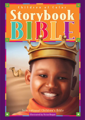 Children Of Color Storybook Bible-ICB (Boys Cover)