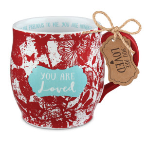 Mug-Pretty Prints-You Are Loved (#18762)