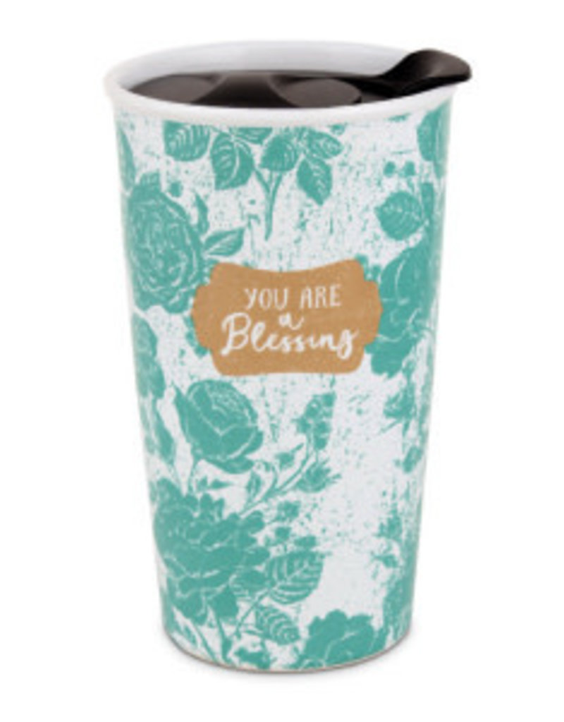 Lighthouse Chirstian Products Tumbler Mug-Pretty Prints-You Are A Blessing (#15063)