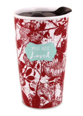 Lighthouse Chirstian Products Tumbler Mug-Pretty Prints-You Are Loved (#15062)