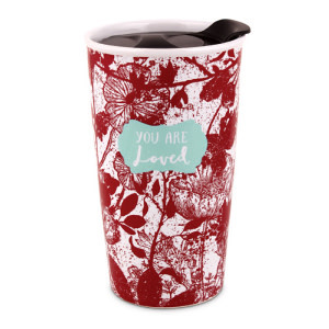 Tumbler Mug-Pretty Prints-You Are Loved (#15062)
