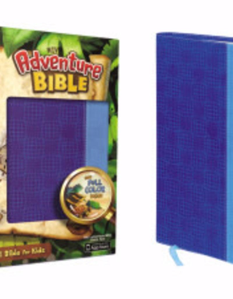 Zondervan NIV Adventure Bible (Full Color) - Blue Duo-Tone