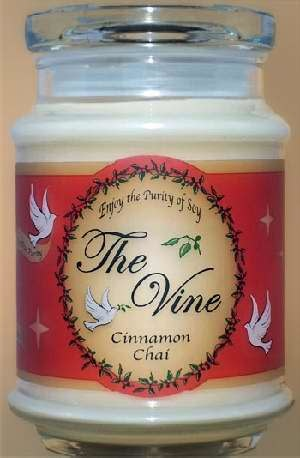 Candle-Jar-Cinnamon Chai (Soy)-1 Cor 13:4, 7 (12 Oz)