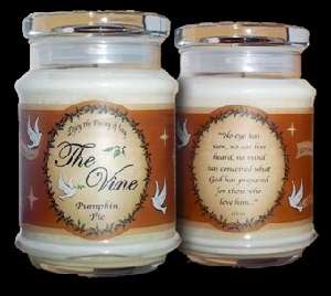 Candle-Jar-Pumpkin Pie (Soy)-1 Co 2:9 (12 Oz)