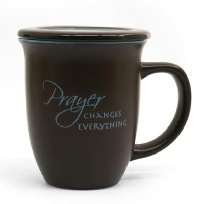 Prayer Changes Everything - Ceramic Mug with Coaster