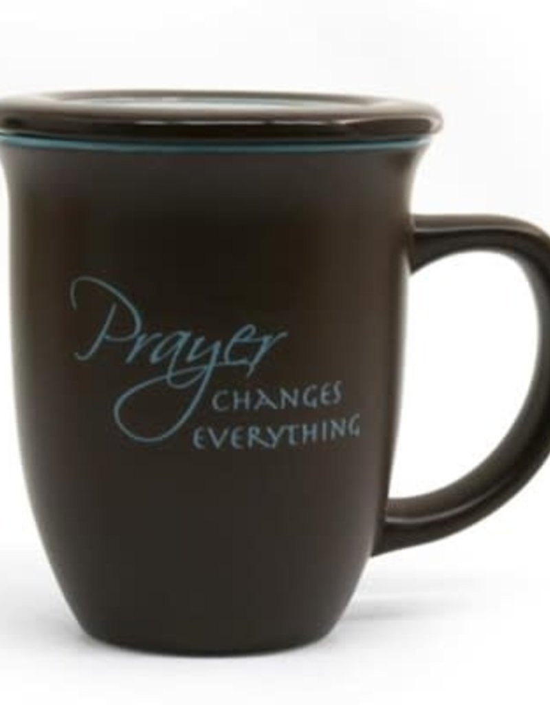 Prayer Changes Everything - Ceramic Mug with Coaster