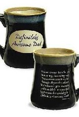 Mug-Pottery-DAD/Definitely Awesome Dad (20 Oz)