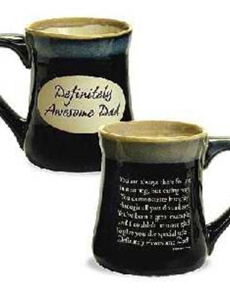 Mug-Pottery-DAD/Definitely Awesome Dad (20 Oz)