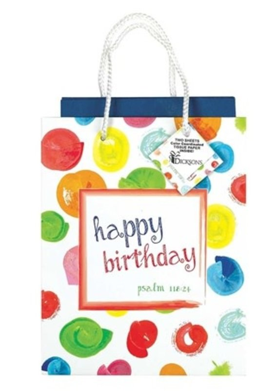 GIFTBAG MEDIUM HAPPY BIRTHDAY