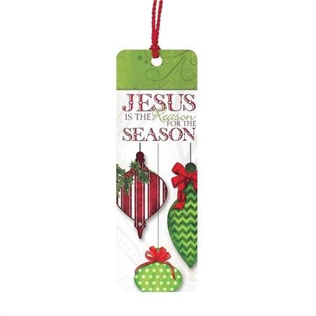 TSL BOOKMARK JESUS IS THE REASON for the season