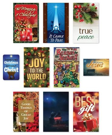 Christmas Tracts Assortment 100