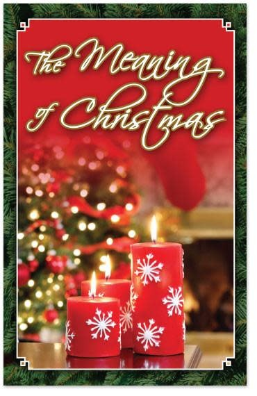 Tracts - The Meaning of Christmas NKJV