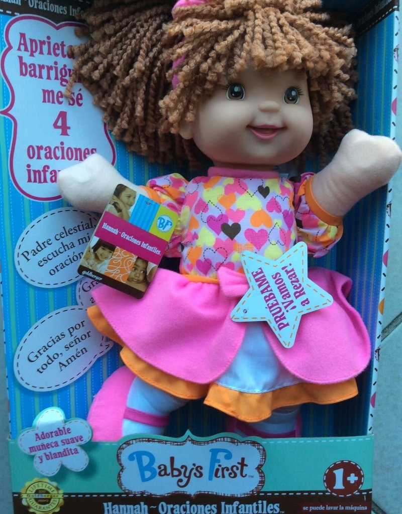 Hannah Prayer Doll Spanish