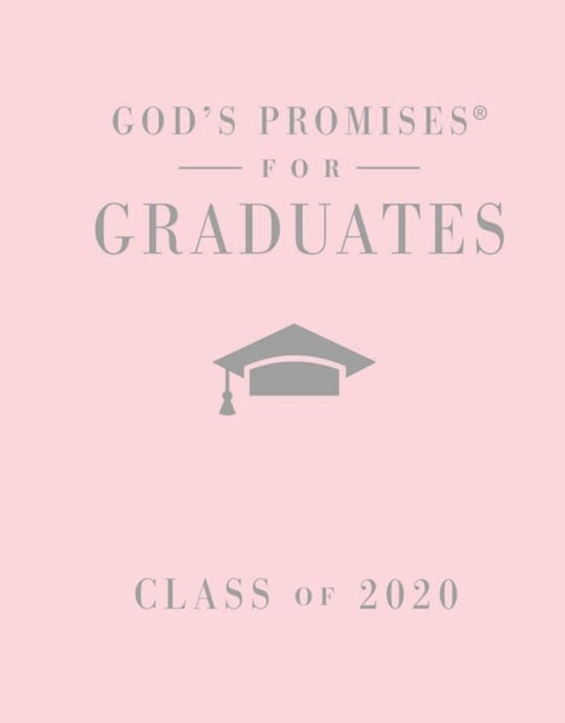 God's Promises For Graduates: Class Of 2020-Pink NKJV
