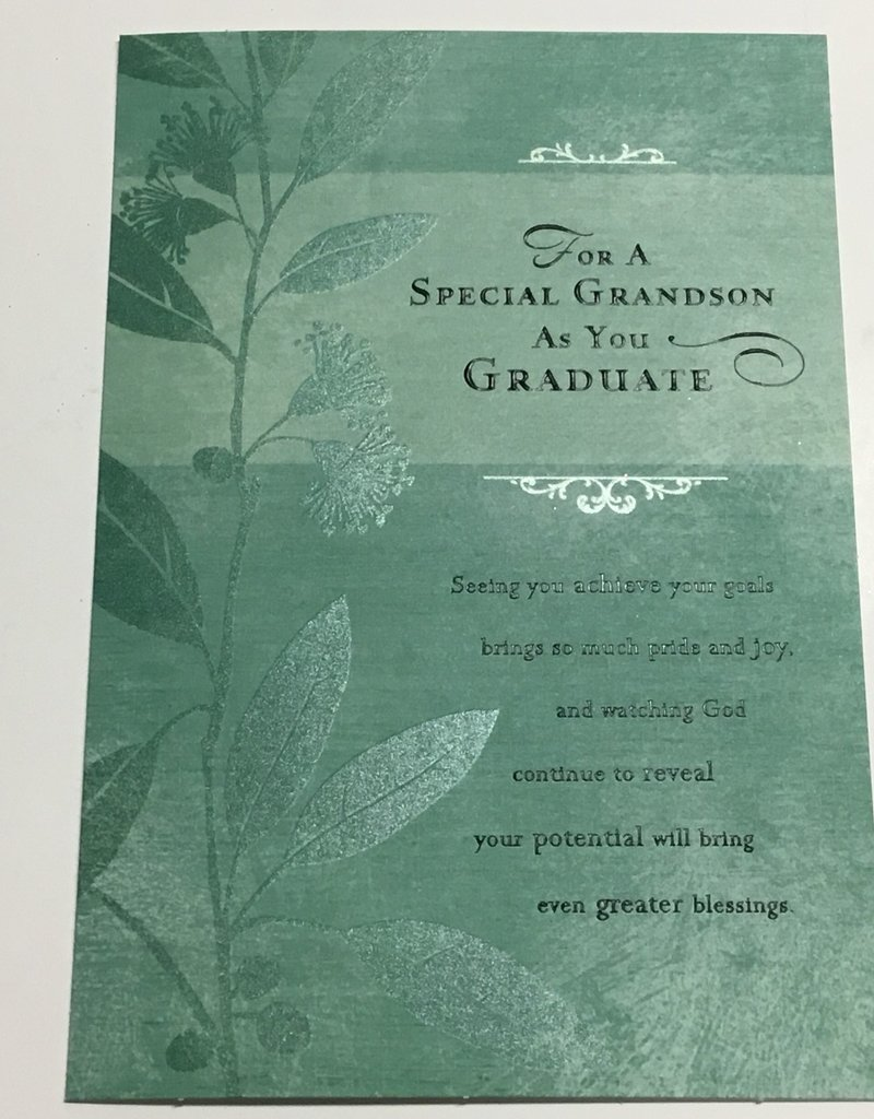 Grandson - Graduation Single Card 2020