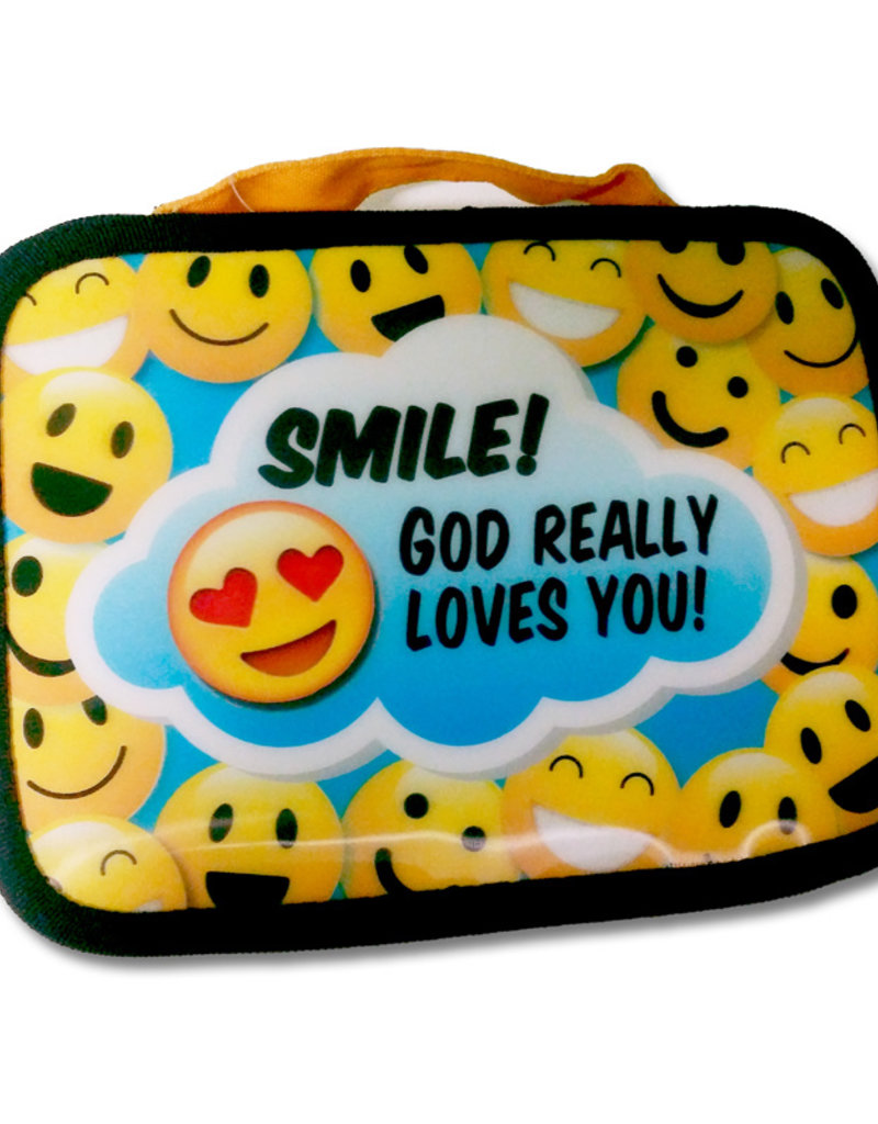 Bible Cover Youth Smile Medium