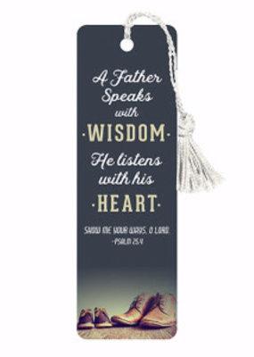 VerseMark-Father Speaks With Wisdom/Dark Blue