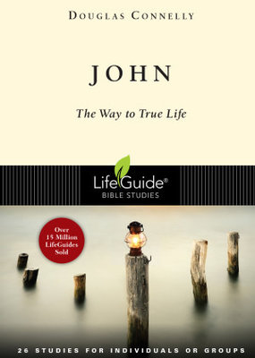 IVP Books John - The Way to True Life (Lifeguide Bible Studies) Paperback