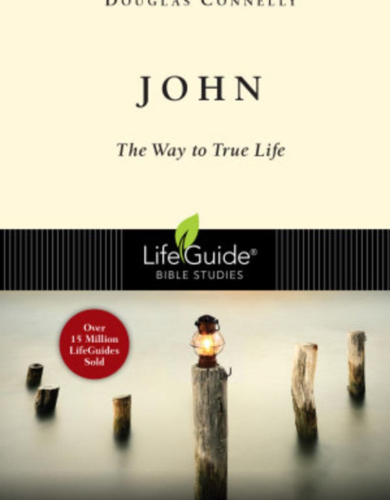 IVP Books John - The Way to True Life (Lifeguide Bible Studies) Paperback
