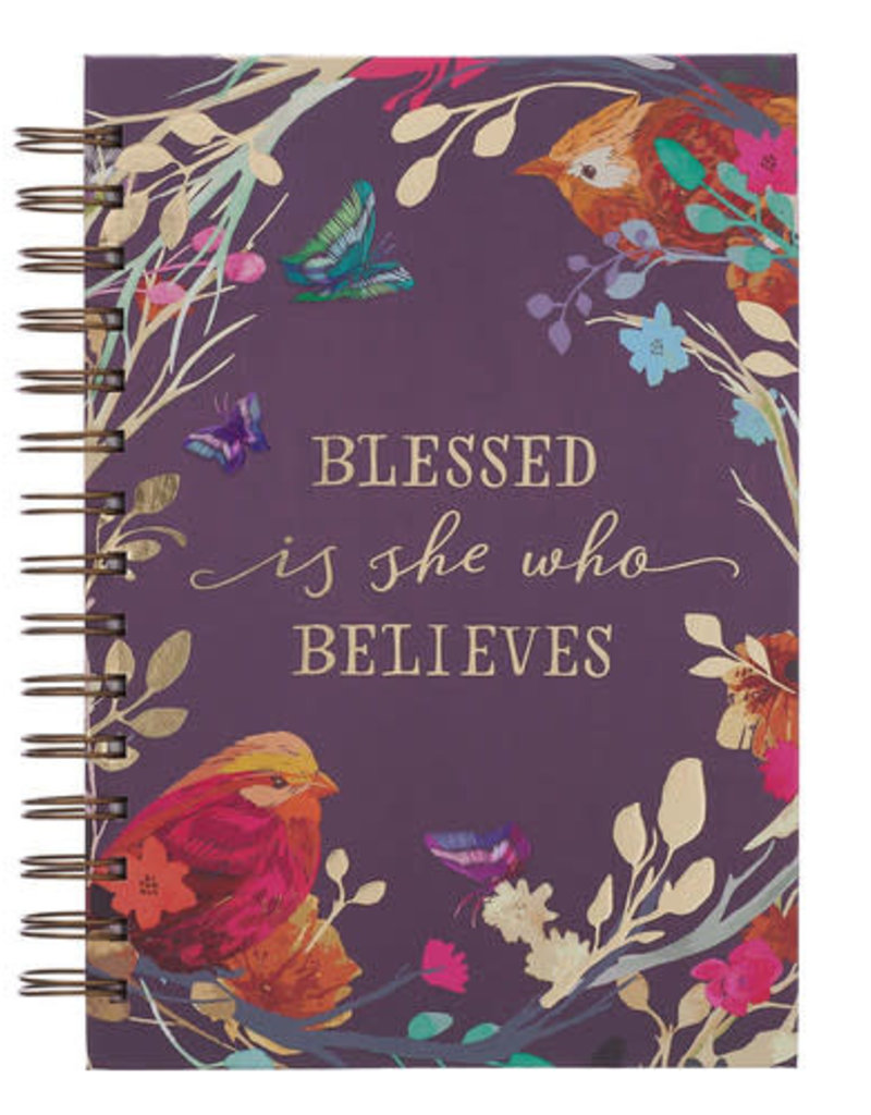 Journal Wire Blessed is She Who Believes