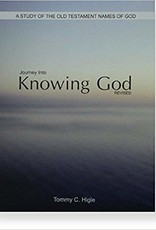 Journey Into Knowing God Revised - A 13-lesson Study of the Old Testament Name of God (KJV Edition) Spiral-bound