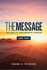 The Message Bible Lg Print hardcover