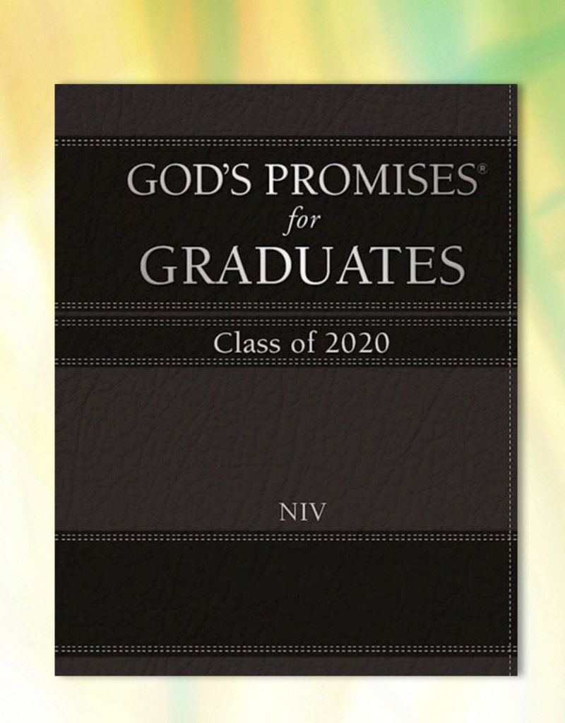 God's Promises For Graduates: Class Of 2020-Black NIV