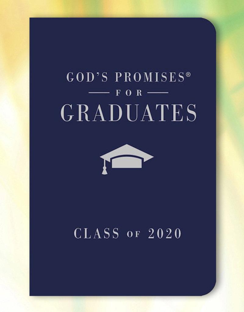 God's Promises For Graduates: Class Of 2020 Navy (NKJ)