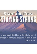 """CB Gift Cards-Pass It On-Standing Firm/Mountain (3"""" x 2"""") (Pack Of 25)"""