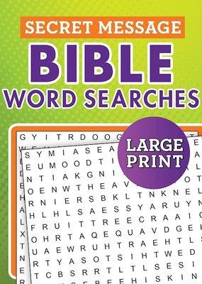 Barbour Secret Message Bible Word Searches Large Print