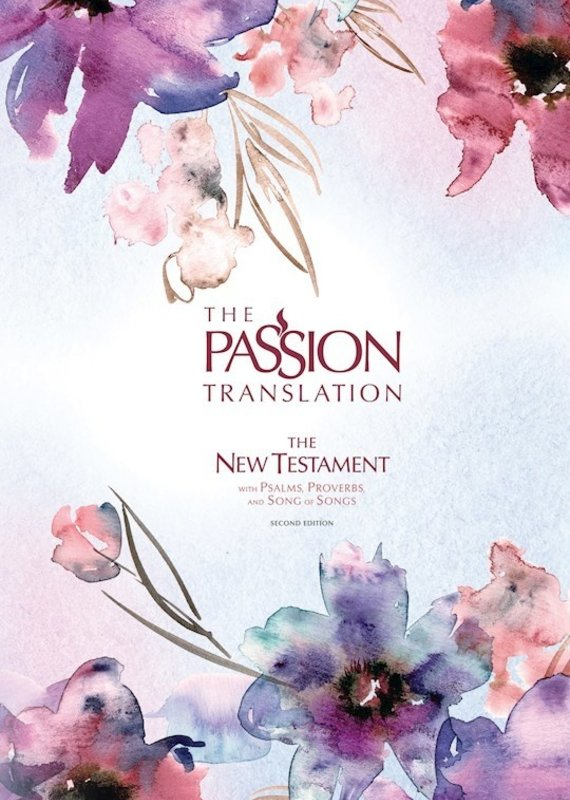 Broadstreet Publishing The Passion Translation New Testament With Psalms, Proverbs & SOS (2nd Edition)-Passion In Plum Hardcover