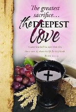 Bulletin Cover Communion Deepest Love