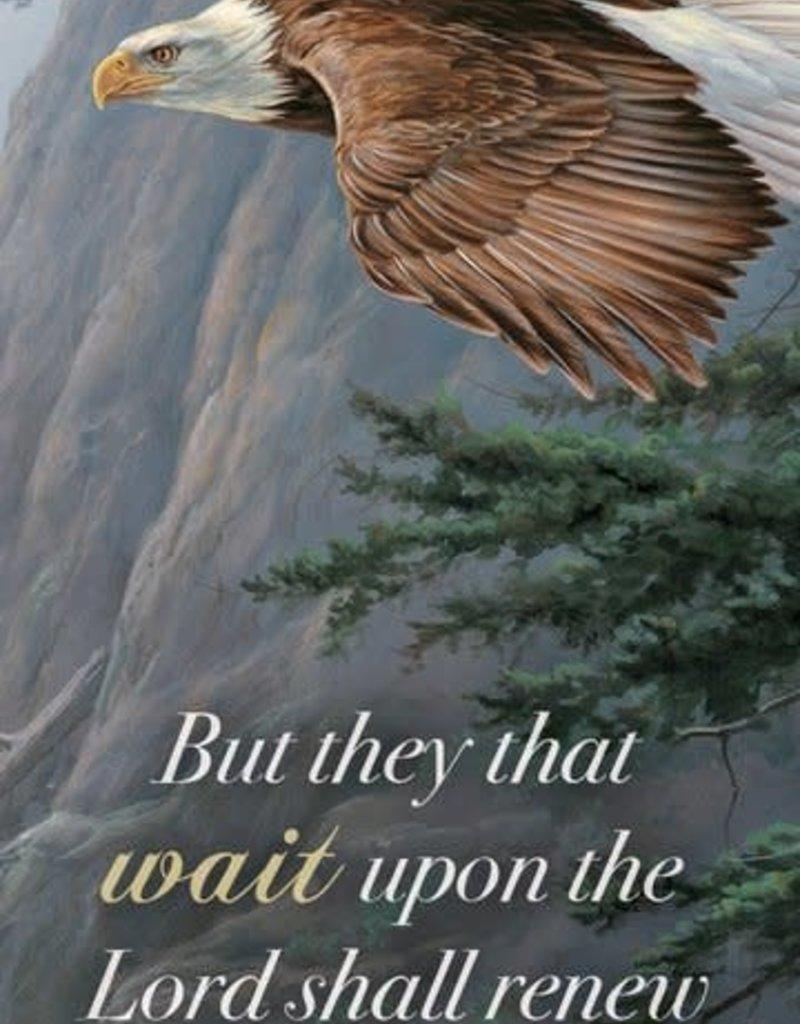BOOKMARK - ON EAGLES WINGS - KJV