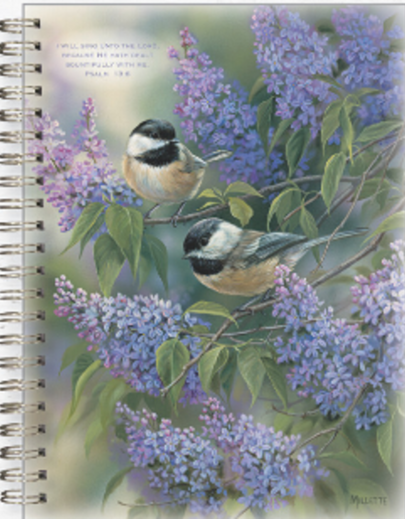 Journal - Chickadees & Lilacs