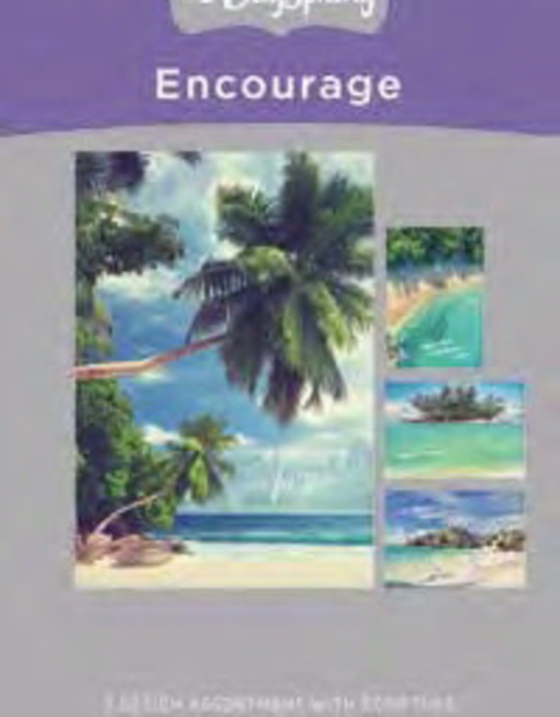 Encouragement - Beaches - 12 Boxed Cards