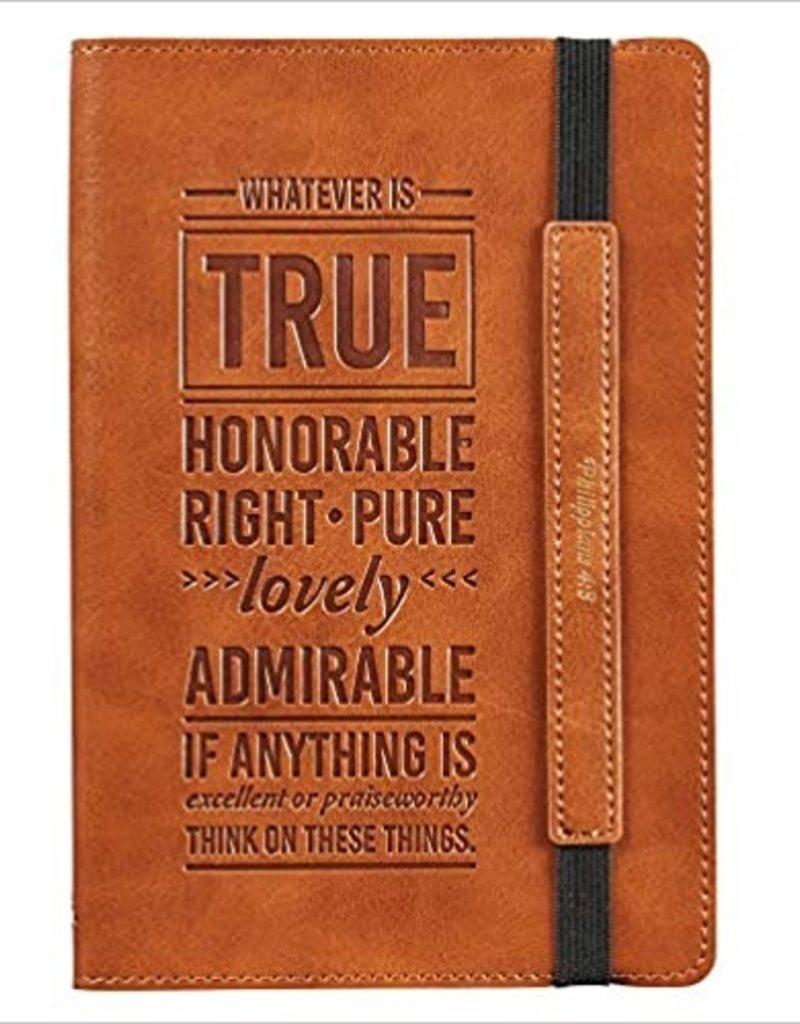 Whatever is True journal