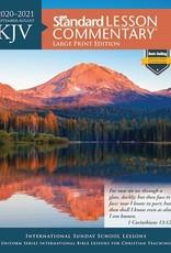 KJV Standard Lesson Commentary 2020-2021-Large Print Edition September 2020-August 2021