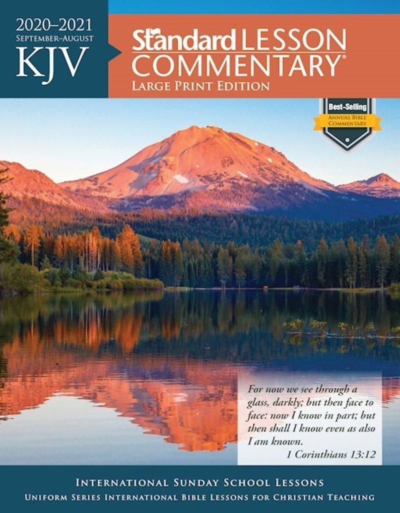 Best Christian Books 2021 KJV Standard Lesson Commentary 2020 2021 Large Print Edition
