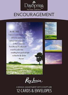 Encouragement - Roy Lessin - 12 Boxed Cards, KJV