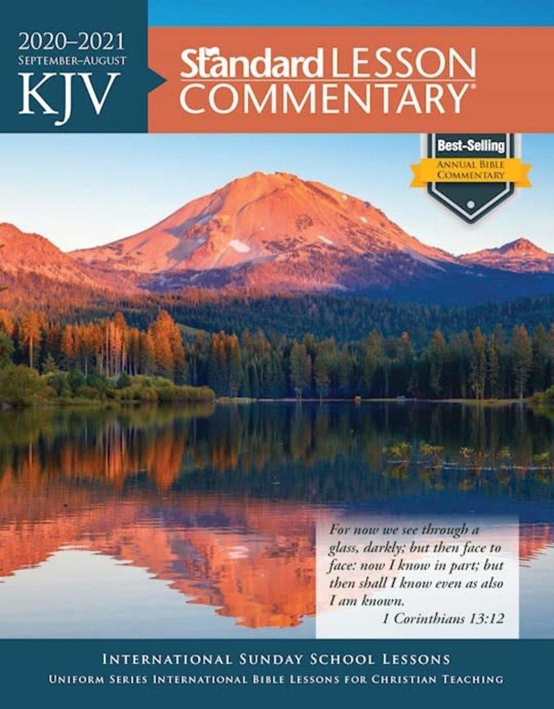 KJV Standard Lesson Commentary 2020-2021-Softcover