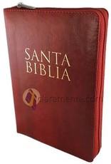 Biblia RVR 1960 Letra Grande con Cierre Indice Vino