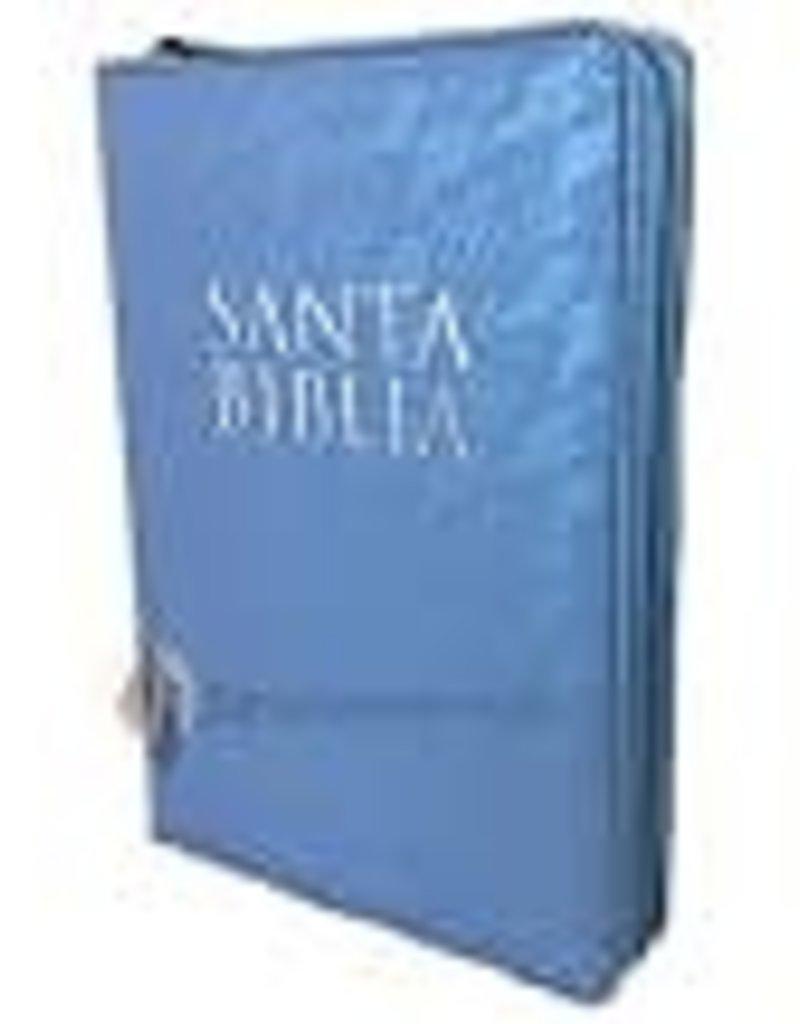 Biblia RVR 1960 Letra Grande con Cierre Indice Celeste