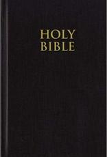 KJV Pew Bible Large Print - Black Hardcover