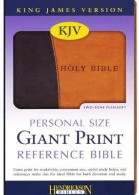 Hendrickson KJV Personal size Giant print reference two-tone Flexsoft
