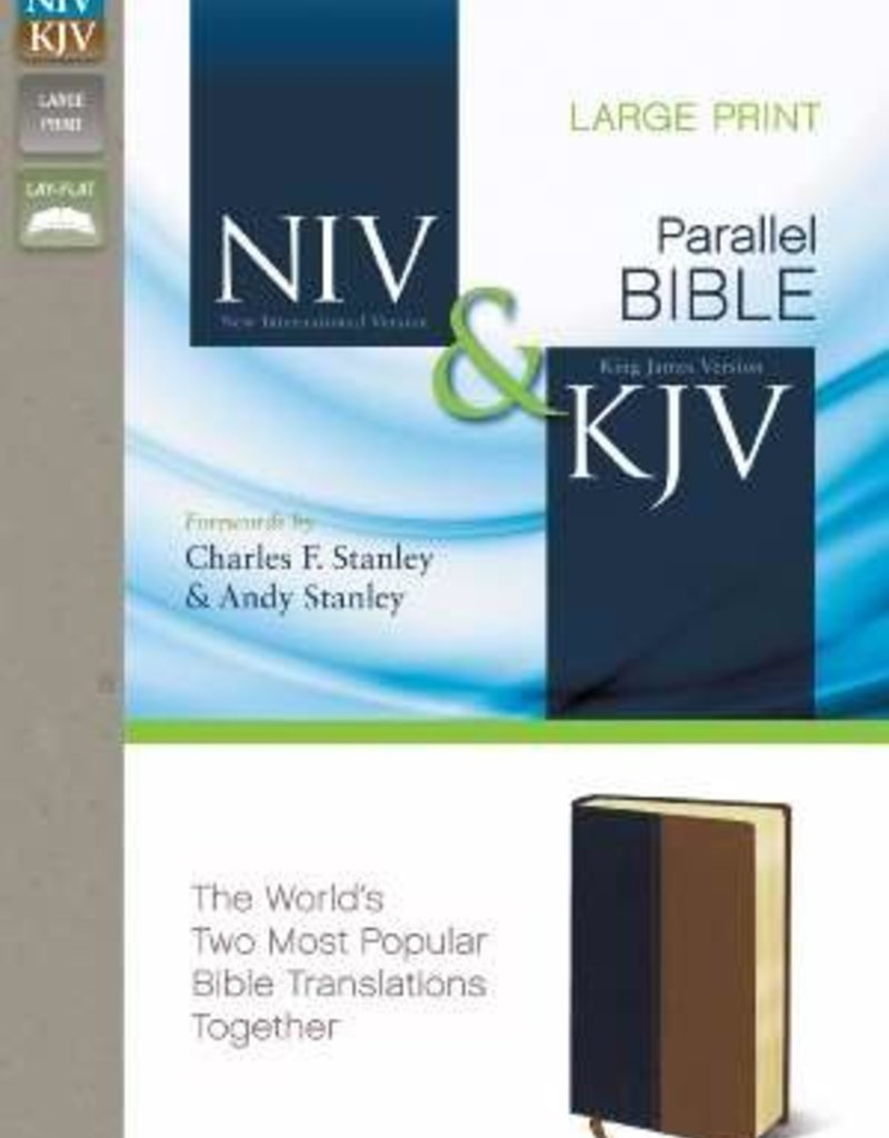 Zondervan NIV/KJV Parallel Large Print Bible