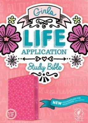 Tyndale NLT Girls Life Application Study Bible