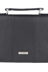 Bible Cover - Medium - Trust Full Grain Leather Black